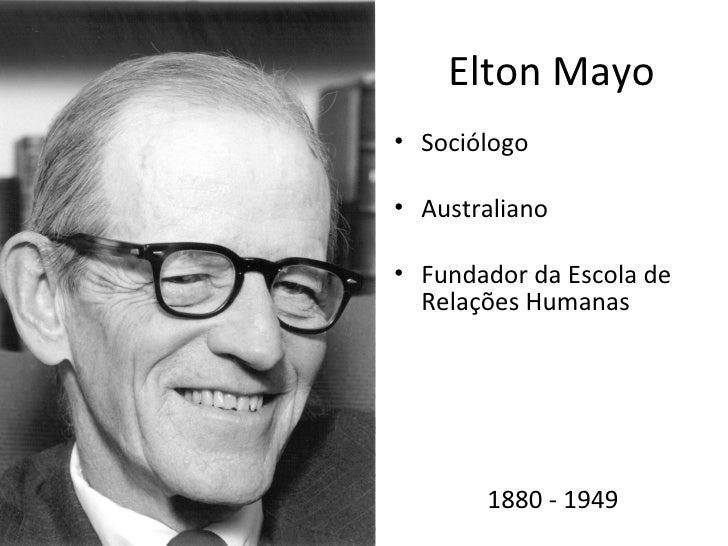 elton mayo biography key works and theories The purpose of this brief guide is to introduce you to the work of roethlisberger and some fritz roethlisberger and elton mayo: for theories or work.