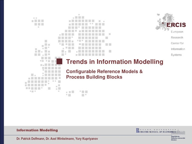 09   trends in information modelling