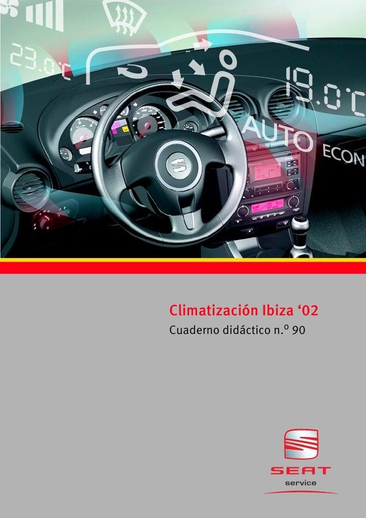 Climatización Ibiza '02Cuaderno didáctico n.o 90
