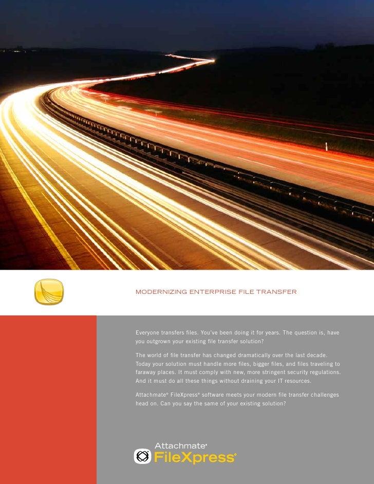 Attachmate FileXpress Brochure