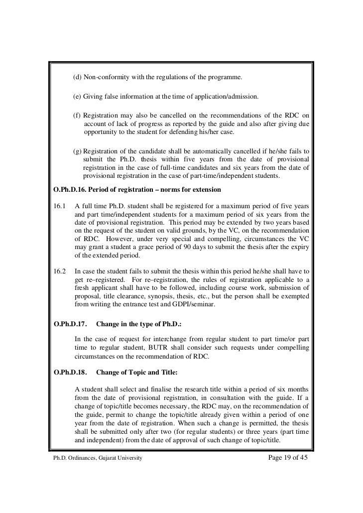 Paper publication prior to PhD thesis submission rule may go
