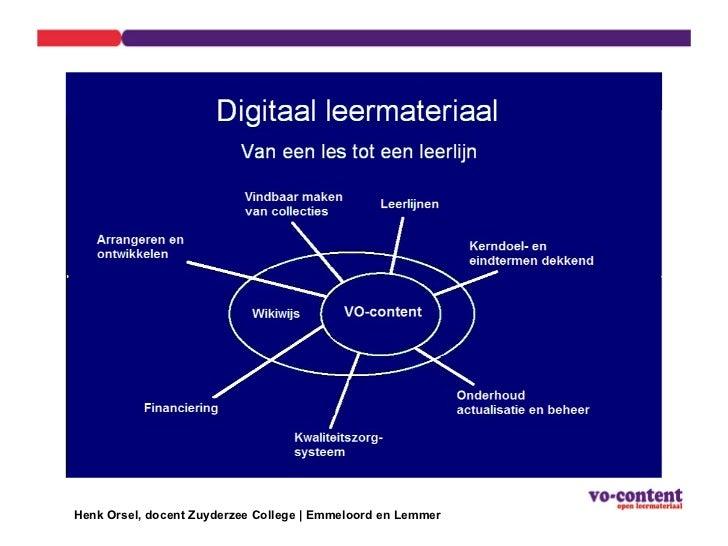 Henk Orsel, docent Zuyderzee College | Emmeloord en Lemmer