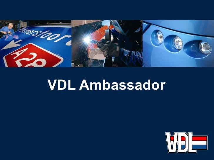 Ambassador Presentation