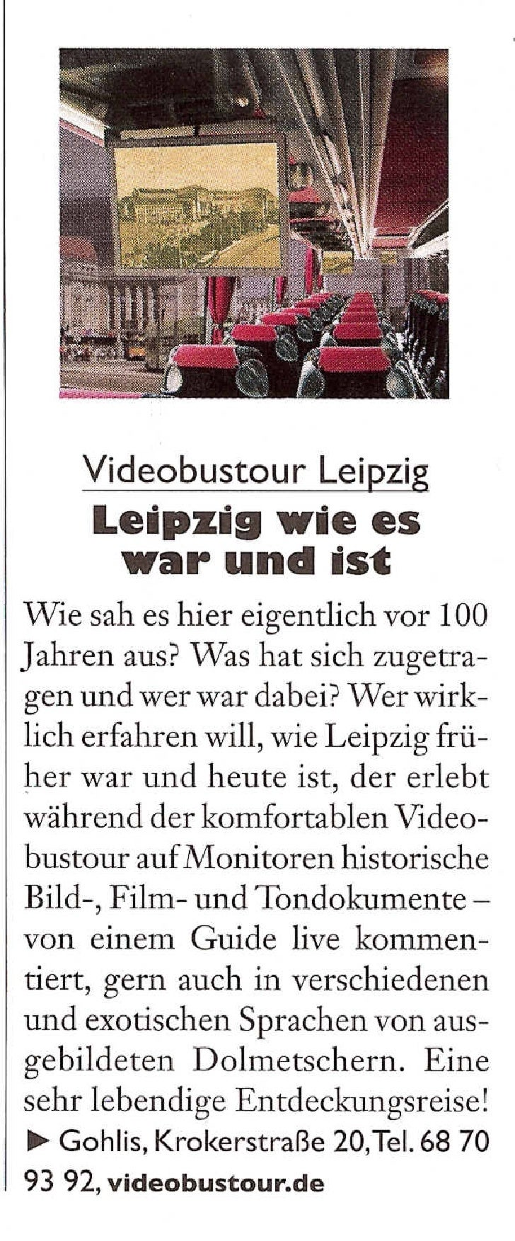 Videobustour - Prinz Leipzig