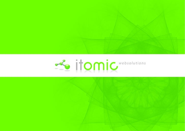 Itomic Websolutions Focussed on usability