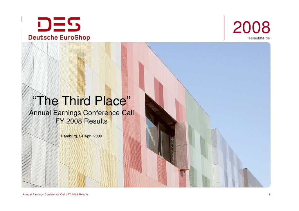 "2008                                                       feelestate.de           ""The Third Place""          e     d ace ..."