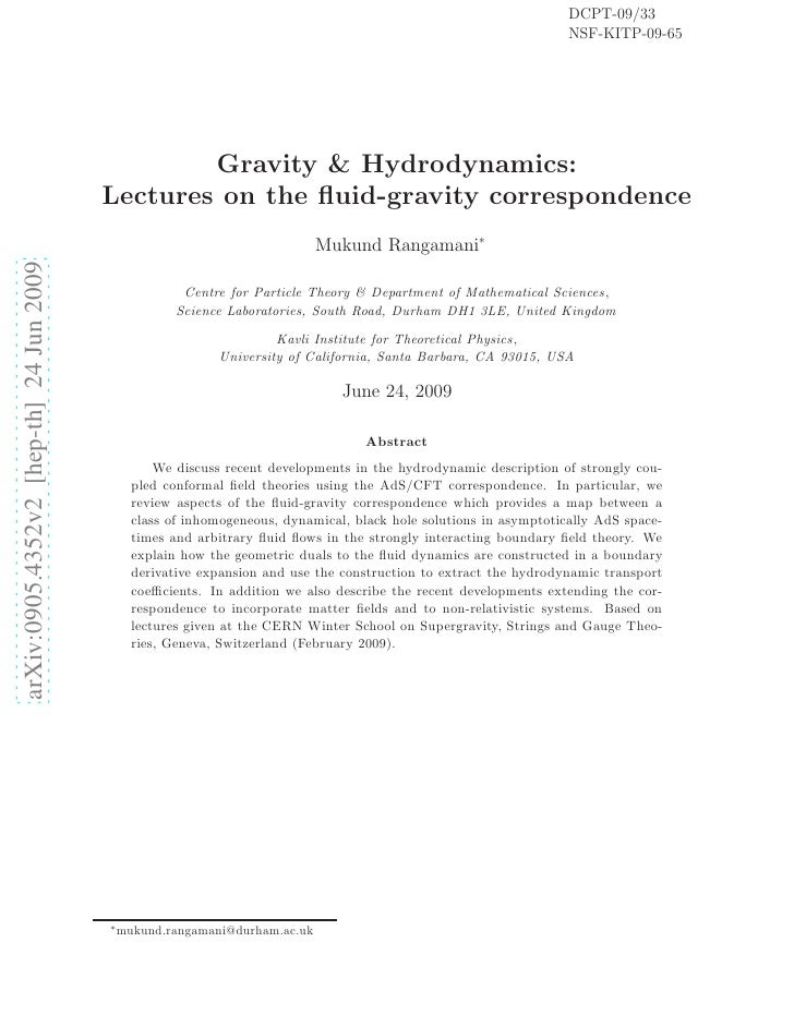 Gravity & Hydrodynamics: Lectures on the fluid-gravity correspondence