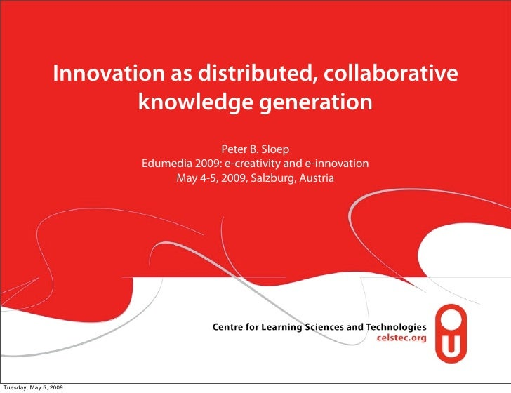 On Open networks for learning and open innovation