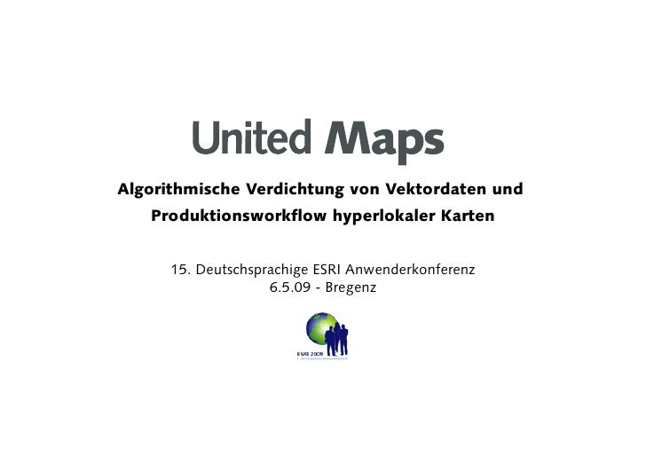 090506 United Maps ESRI UC Bregenz, Austria (GERMAN)