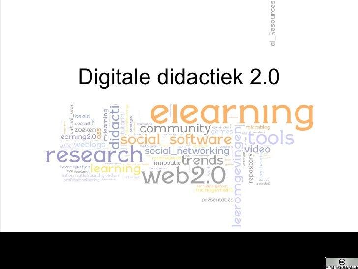Didactisch Gebruik Social Software
