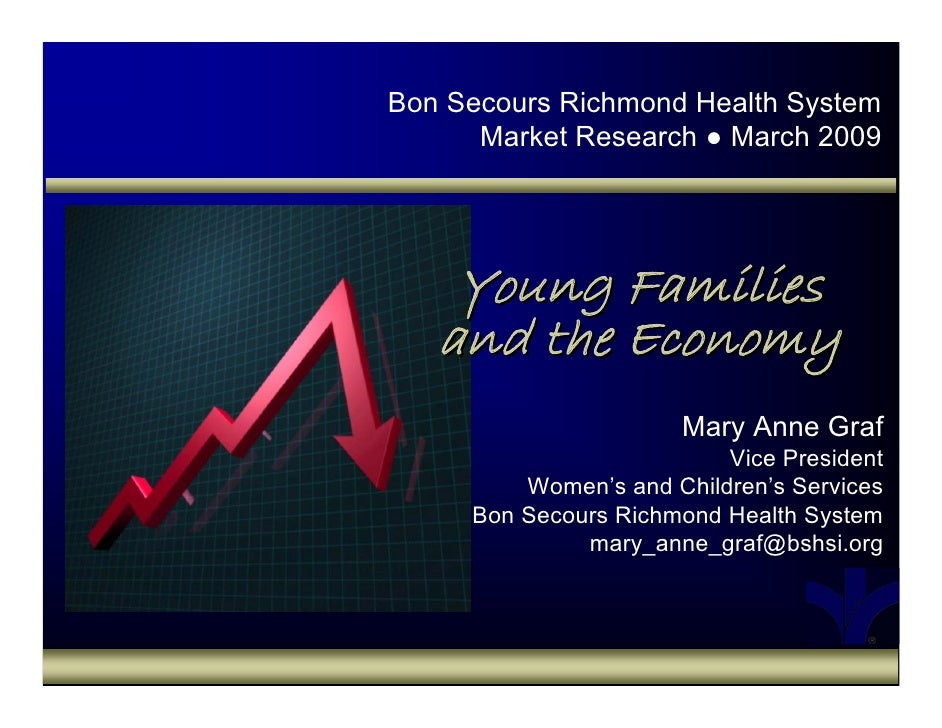 Young Famillies & the Economy Mkt Research