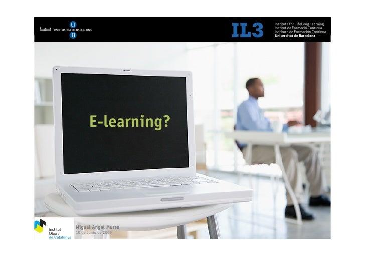 IOC Parte 1 - E-learning