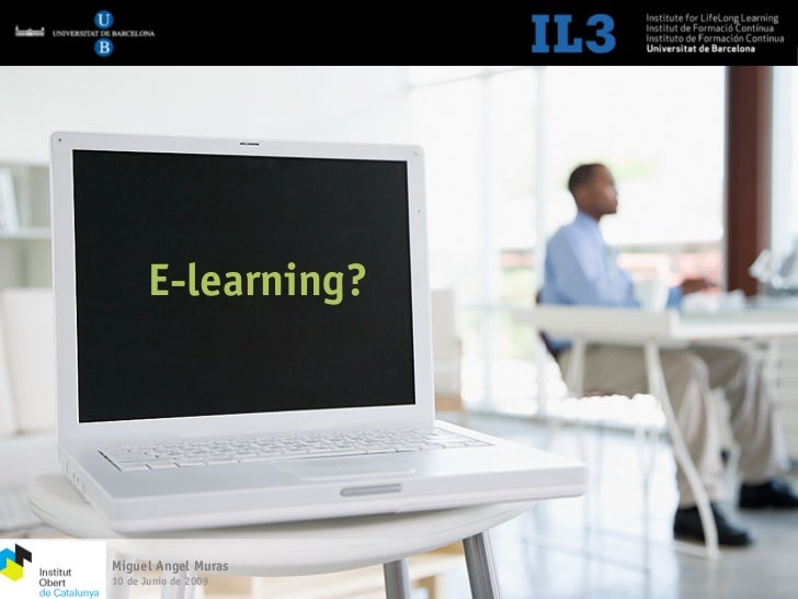 Jornada IOC. E-learning 2.0