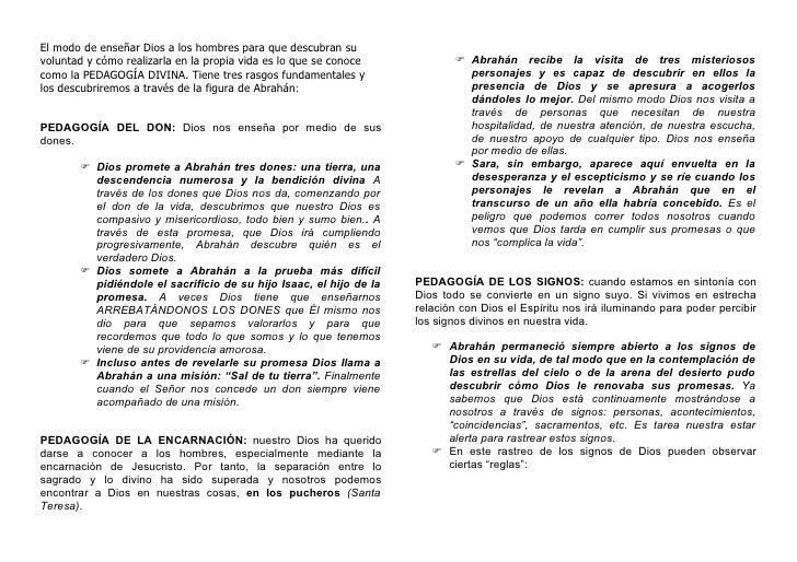 090627 Pedagogía Divina