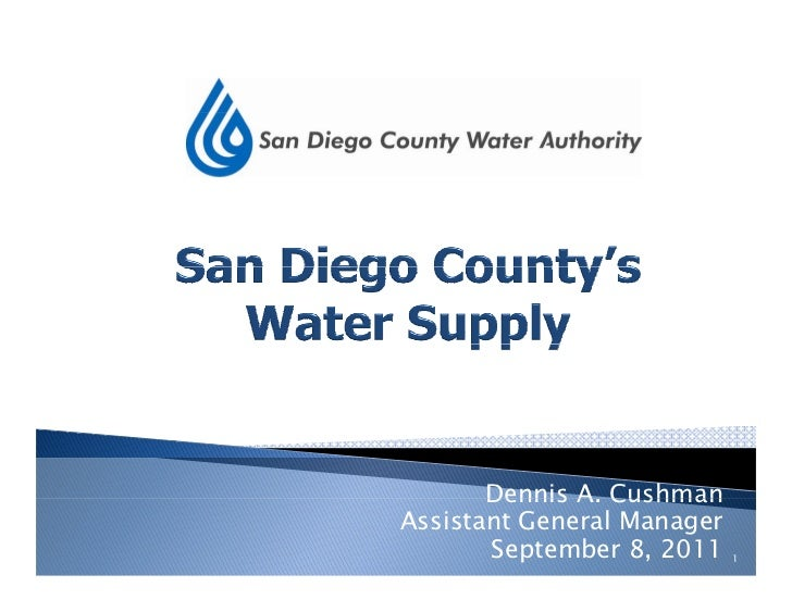 Water Education Foundation San Diego Tour, by Dennis Cushman