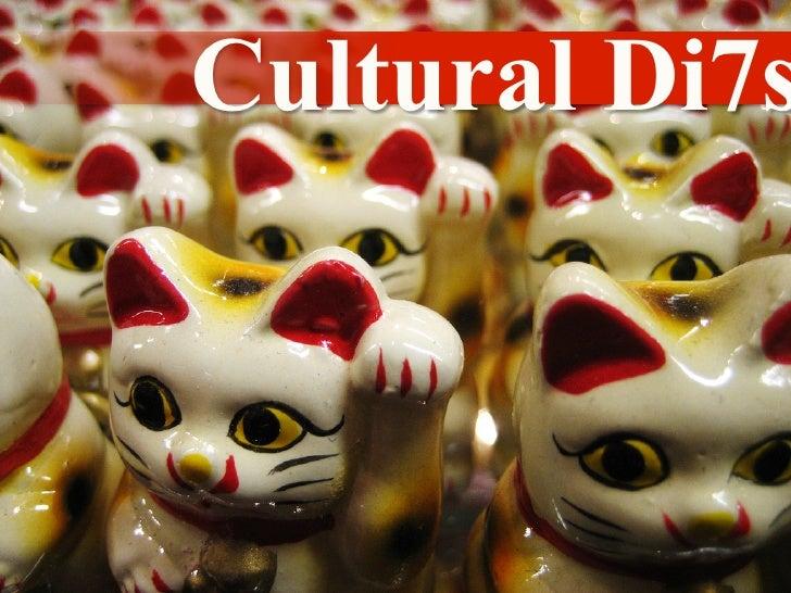 Cultural Di7s