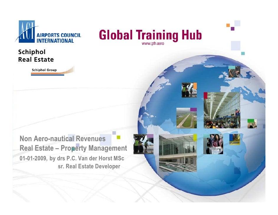 09 09 01 Aci Non Aeronautical Revenues, Airport Real Estate