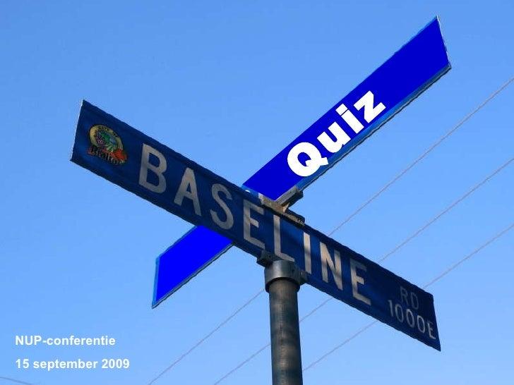De Baseline Quiz Voor Het Ipo