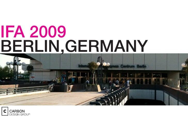 IFA 2009 BERLIN,GERMANY