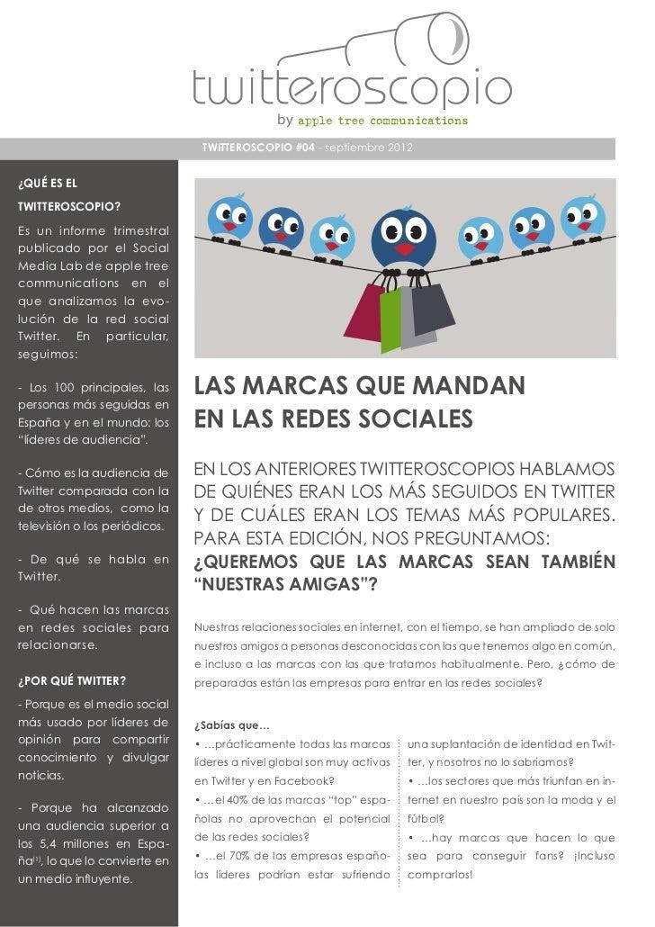 Informes marcas en redes sociales jul 2012