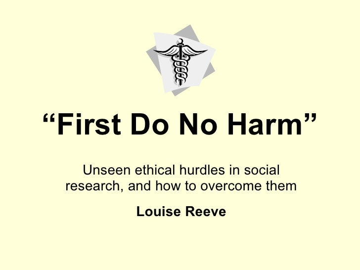 Ethics in Social Research for MA students