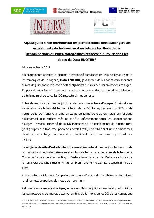 Aquest projecte està subvencionat pel Servei d'Ocupació de Catalunya en el marc del programa de projectes innovadors i cof...