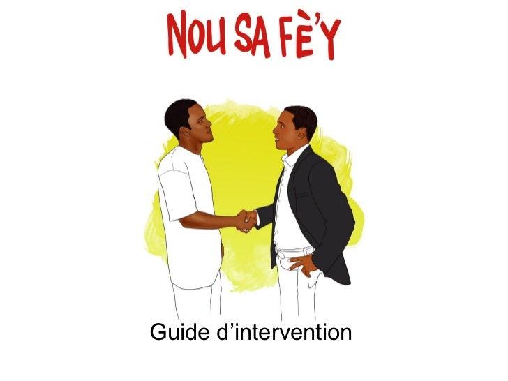 Guide d'interventionNovembre 2009         Marwane Bejgane                       Arielle Ursulet