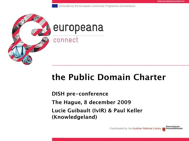 The Public Domain Charter