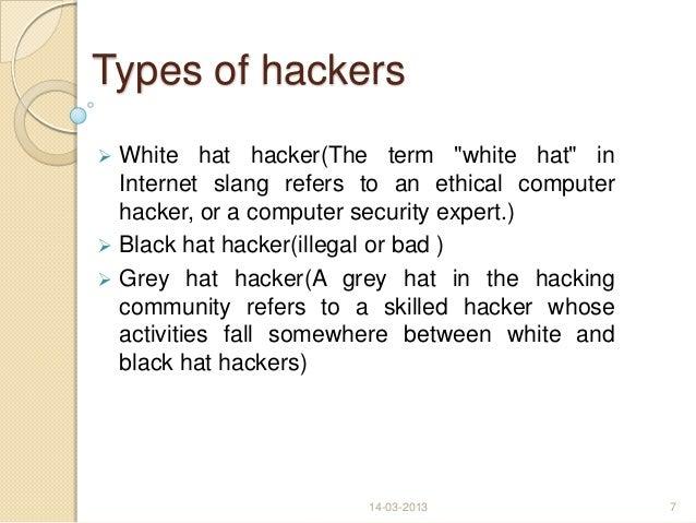 White Hat Hacker Vs Bl...