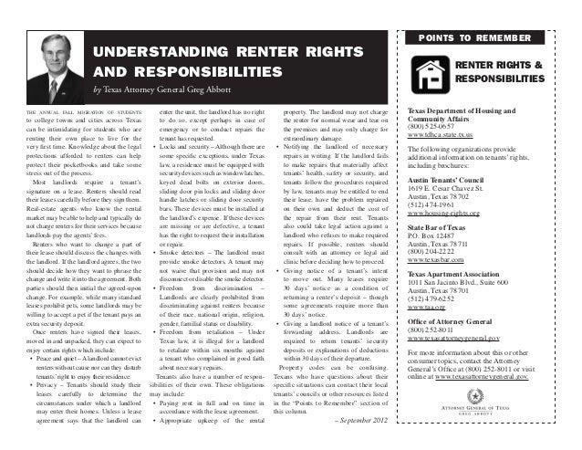 Understanding Renter Rights and Responsibilities