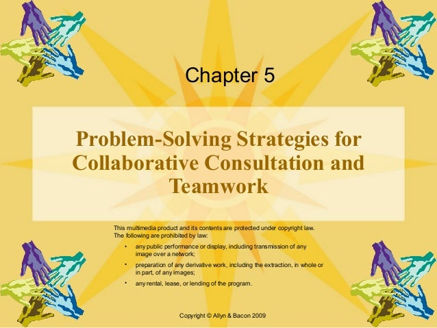 Collaborative problem solving techniques