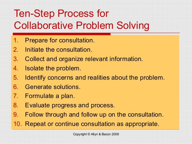 What Are The Steps In Problem Solving