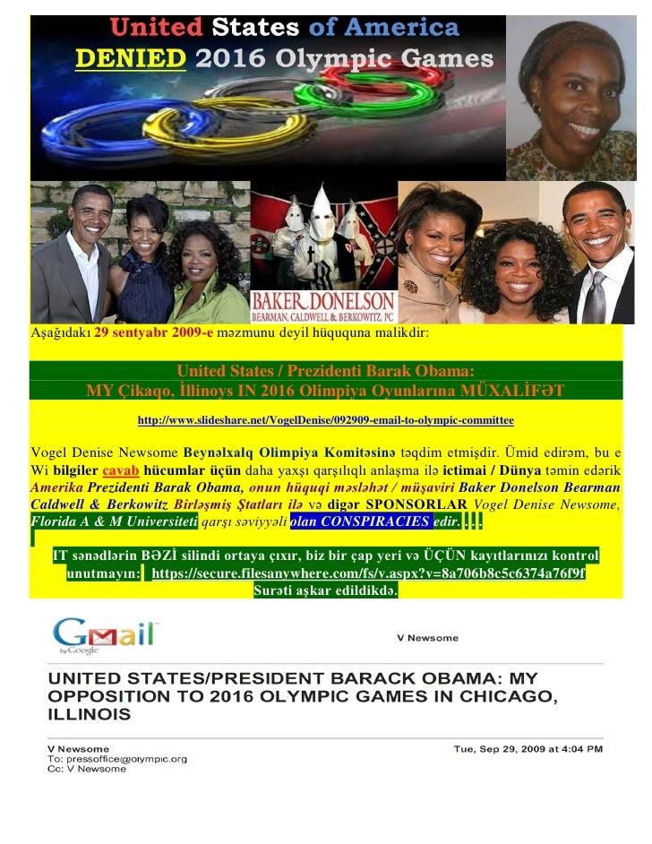 Aşağıdakı 29 sentyabr 2009-e məzmunu deyil hüququna malikdir:                  United States / Prezidenti Barak Obama:    ...