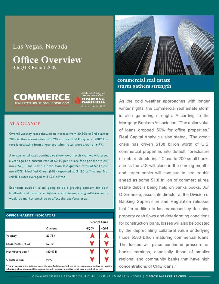 Las Vegas, Nevada        Office Overview       4th QTR Report 2009                                                        ...