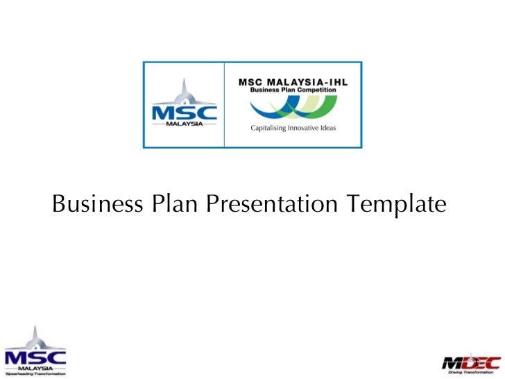 097650  M I B P C2009 Business Plan Presentation Templatev1.0