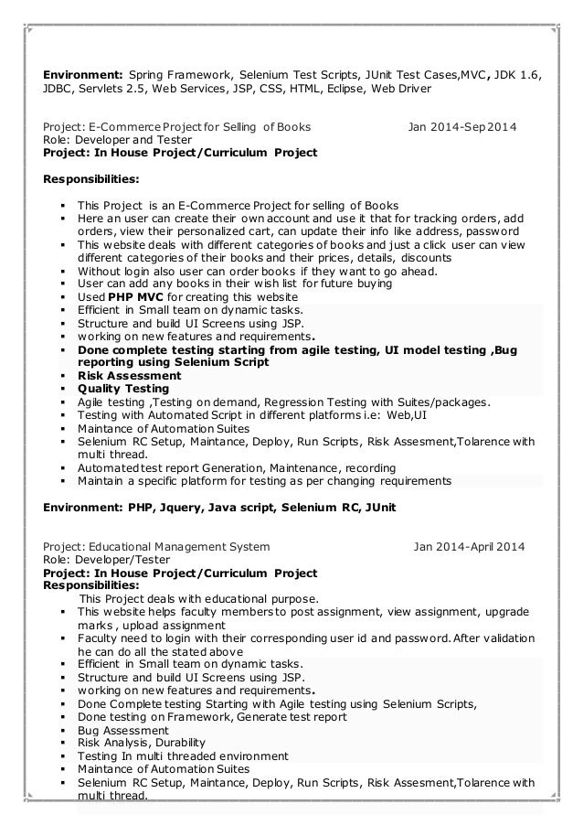 priyanka resume  threaded environment 3