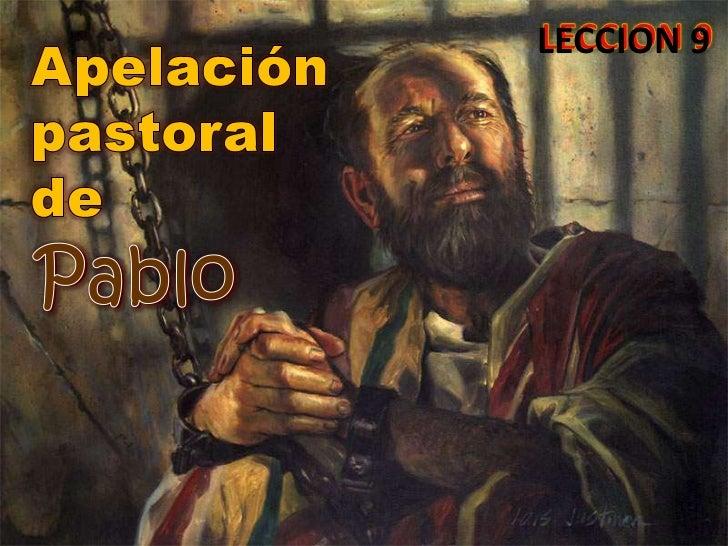 LECCION 9Pablo