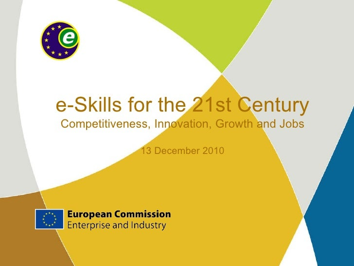 Andre Richier - e-Skills for the 21st Century