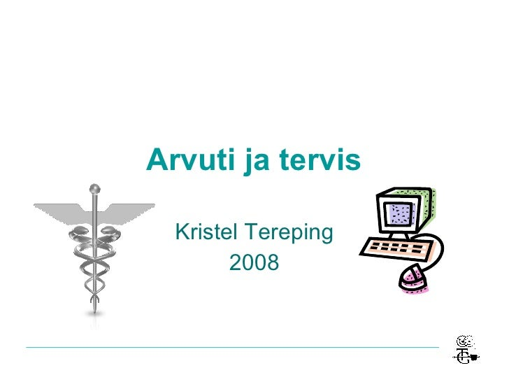 Arvuti ja tervis