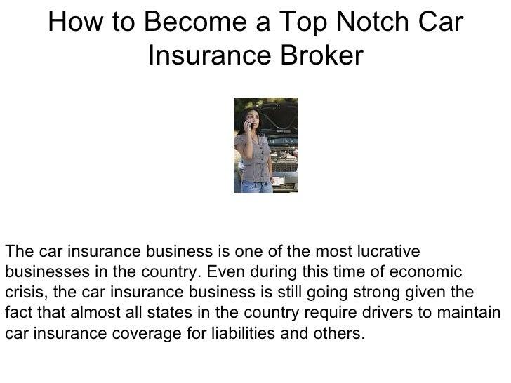 Becoming a car broker
