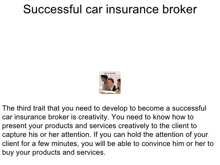 What is a broker car insurance