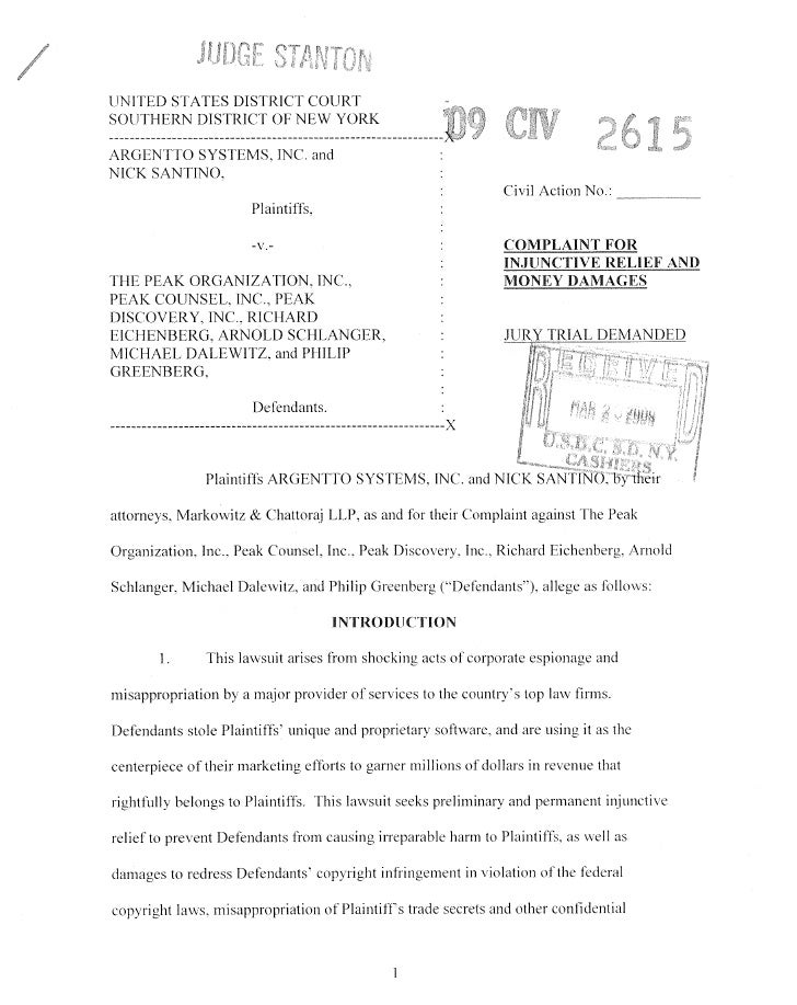 information, passing-off under the Lanham Act, unfair competition, unjust enrichment,conversion, breach of contract, and t...