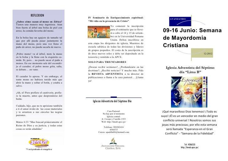 09 de junio: Boletin pastoral