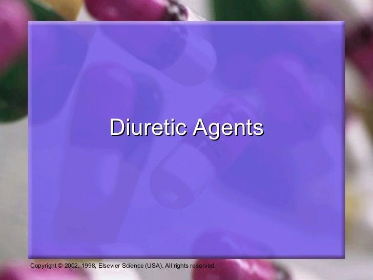Diuretic Agents