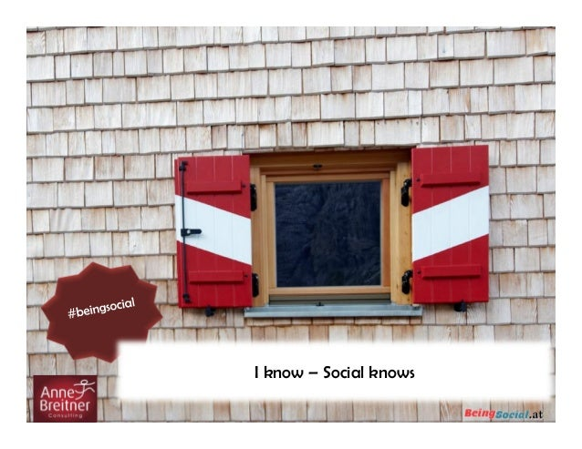 I know – Social knows