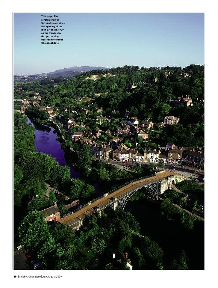 This page: The                        stretch of river                        Severn known since                        th...