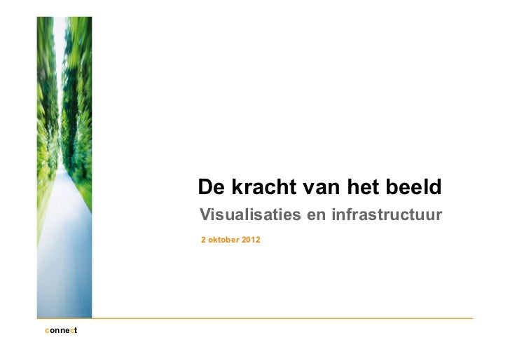 De kracht van het beeld          Visualisaties en infrastructuur          2 oktober 2012connect
