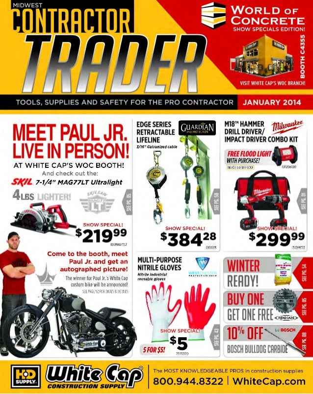TOOLS, SUPPLIES AND SAFETY FOR THE PRO CONTRACTOR  MEET PAUL JR.  LIVE IN PERSON! woe  M18™ HAMMER 1fl;kv~ DRILL DRIVER/ ~...