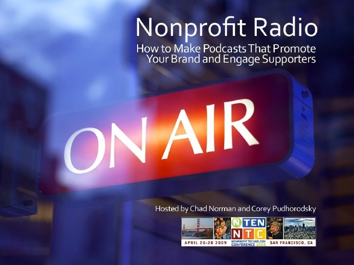 Nonprofit Radio - Make Podcasts that Engage Supporters