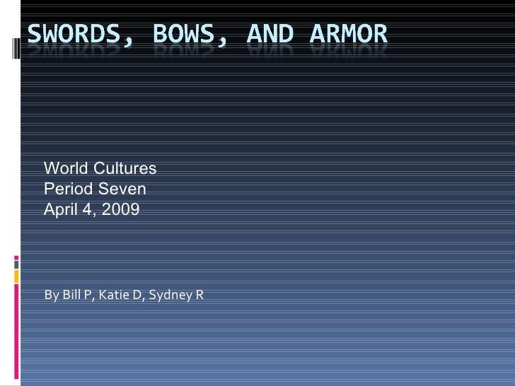 09 P7 Swords Armor Bows